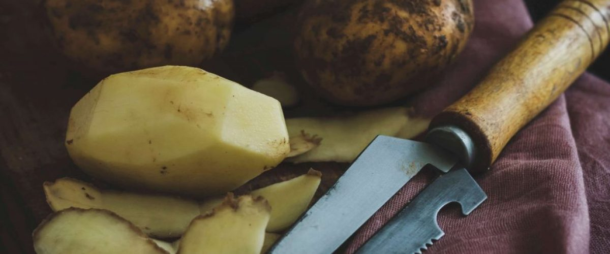 Natural burn remedy potato